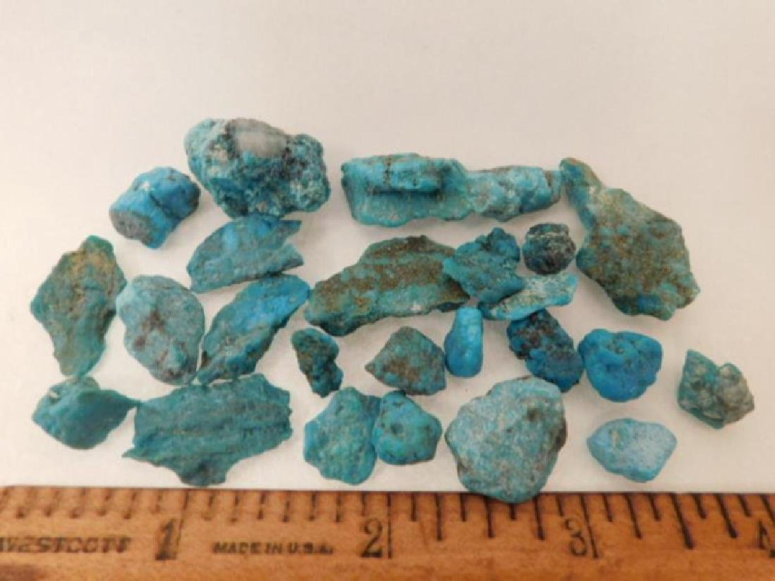 ROUGH TURQUOISE ROCK STONE LAPIDARY SPECIMEN (Yes, we - 2