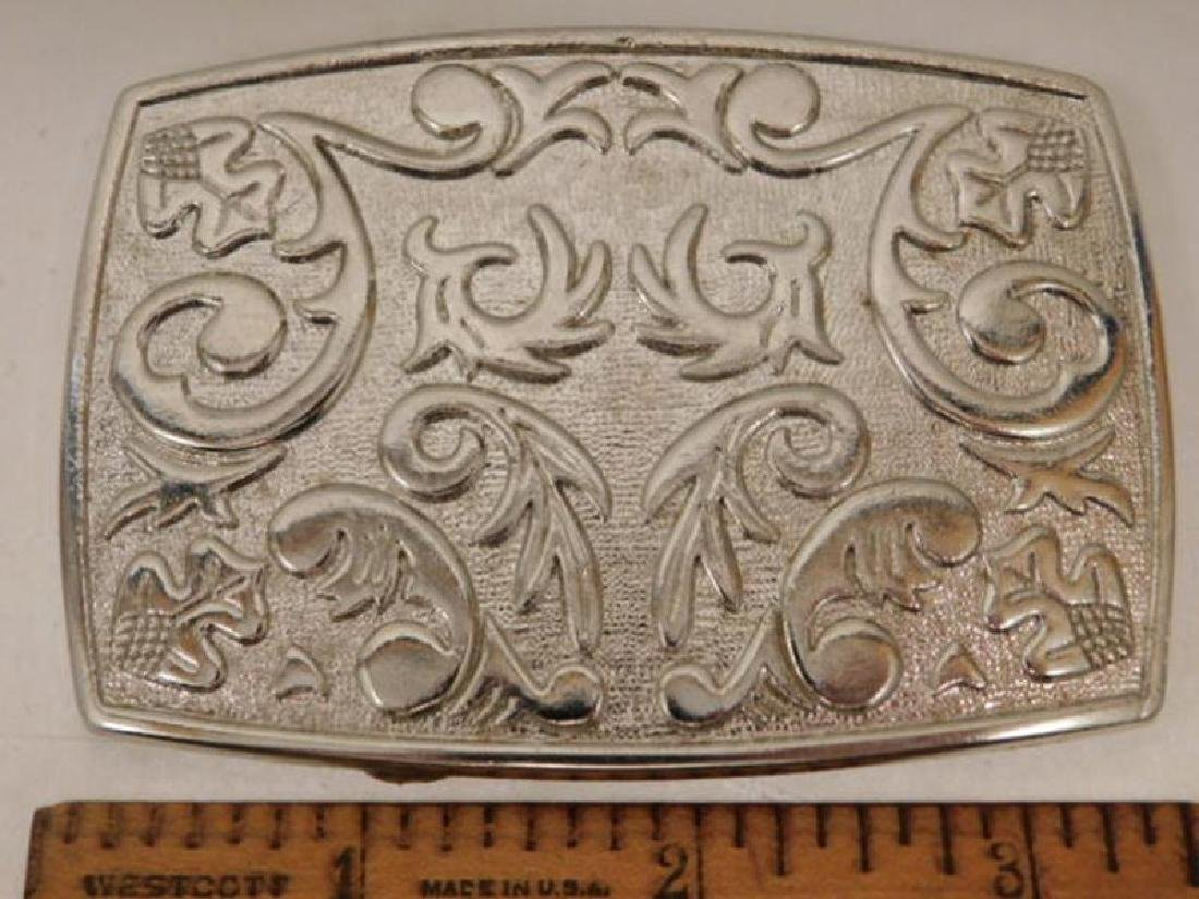 DECORATIVE BELT BUCKLE - 2