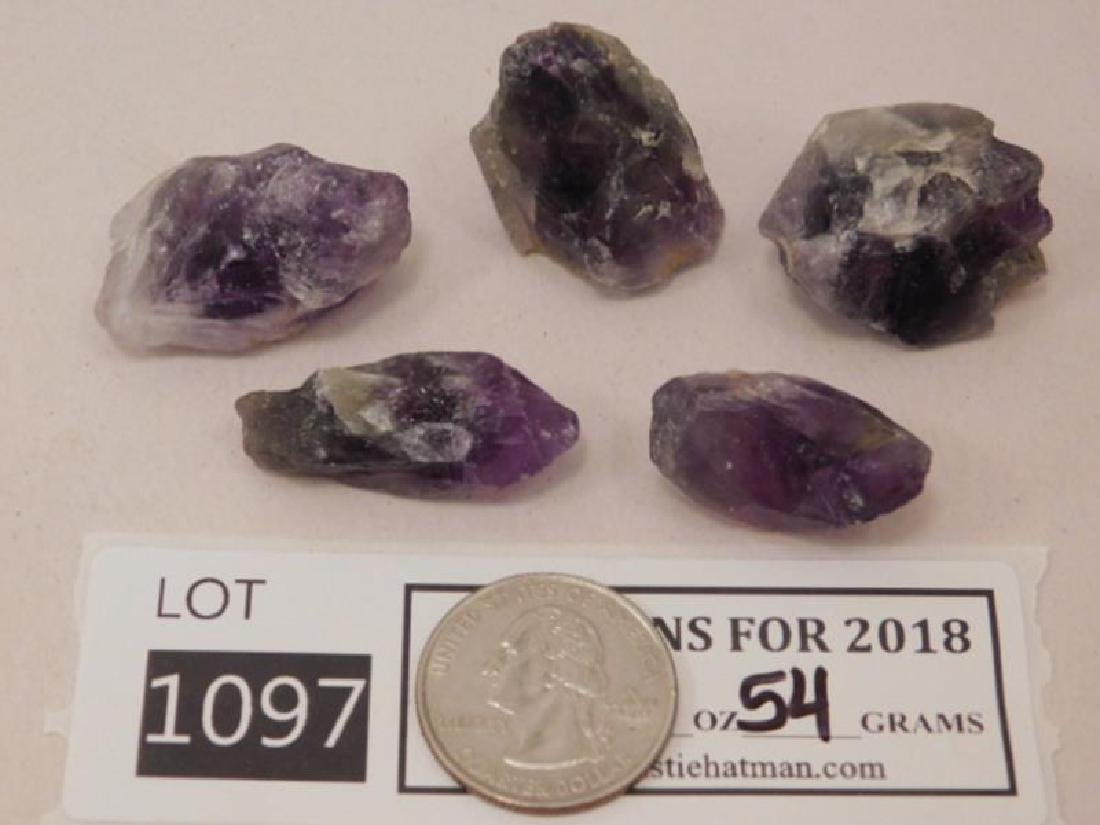 AMETHYST ROCK STONE LAPIDARY SPECIMEN (Yes, We Ship)