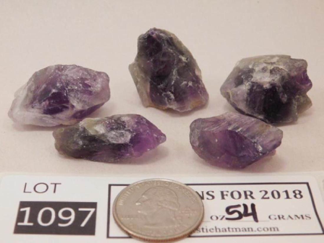 AMETHYST ROCK STONE LAPIDARY SPECIMEN (Yes, We Ship) - 2
