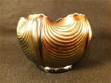 NORTHWOOD CARNIVAL GLASS 1800'S VICTORIAN AMETHYST