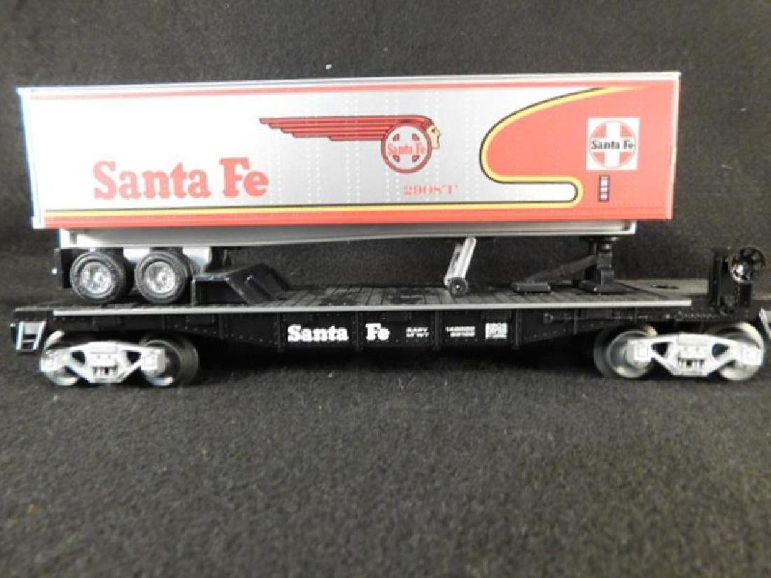 LIONEL TRAIN SANTA FE ANTIQUES AND COLLECTIBLES (YES,
