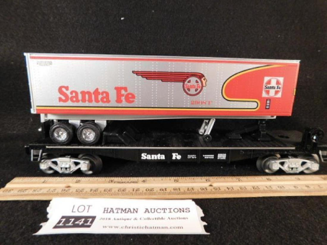 LIONEL TRAIN SANTA FE ANTIQUES AND COLLECTIBLES (YES, - 2