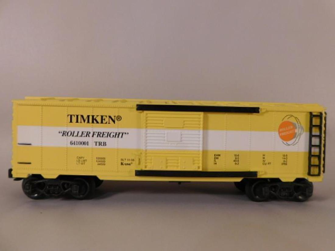 LIONEL TRAIN FREIGHT K-LINE FREIGHT CAR TIMKEN ROLLER - 2