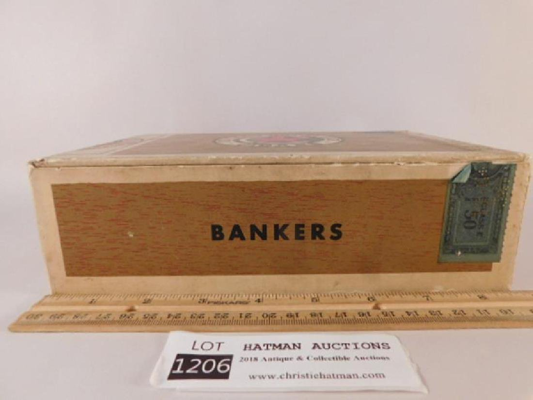 CHICAGO MOTOR CLUB BANKERS CIGAR BOX ANTIQUES AND - 2