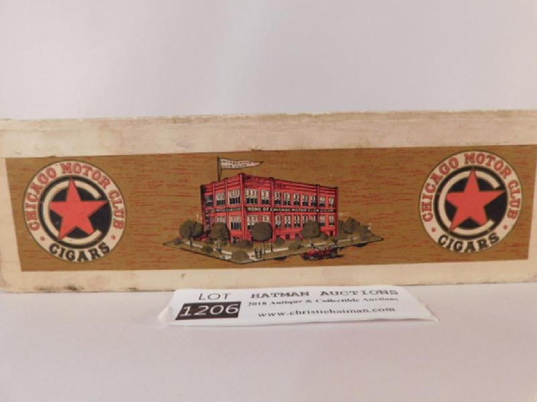 CHICAGO MOTOR CLUB BANKERS CIGAR BOX ANTIQUES AND - 4