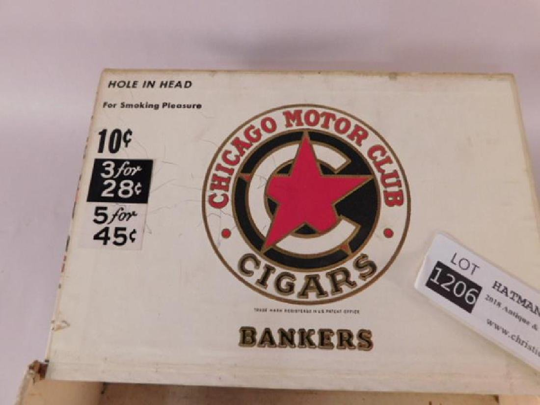 CHICAGO MOTOR CLUB BANKERS CIGAR BOX ANTIQUES AND - 5
