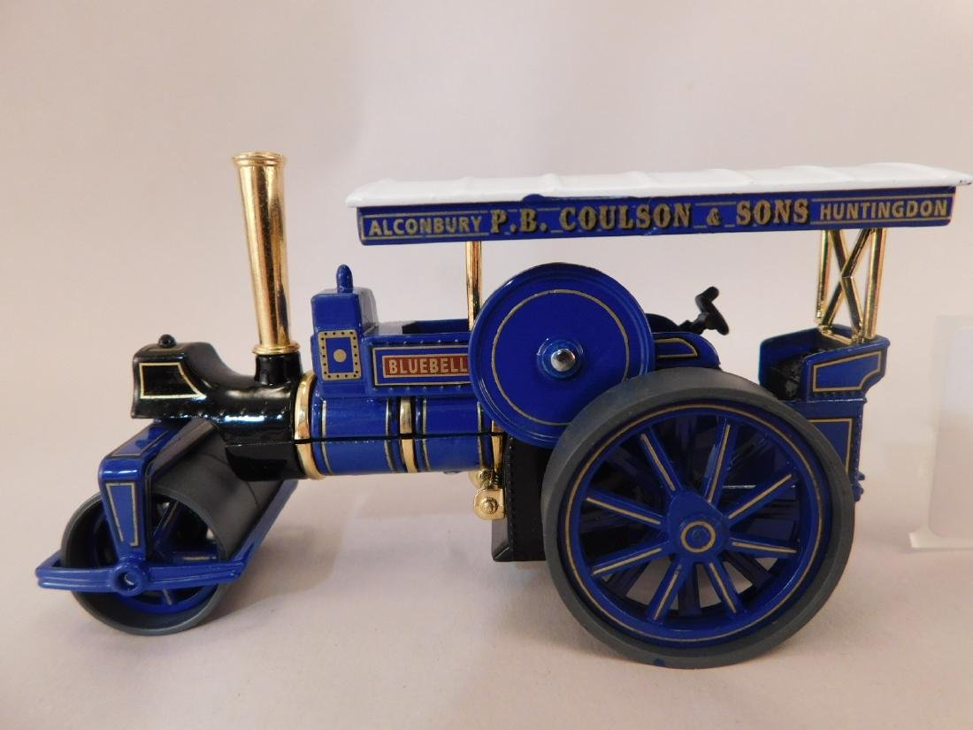ALCONBURY PB COULSON AND SONS DIE CAST STEAM TRACTOR - 2