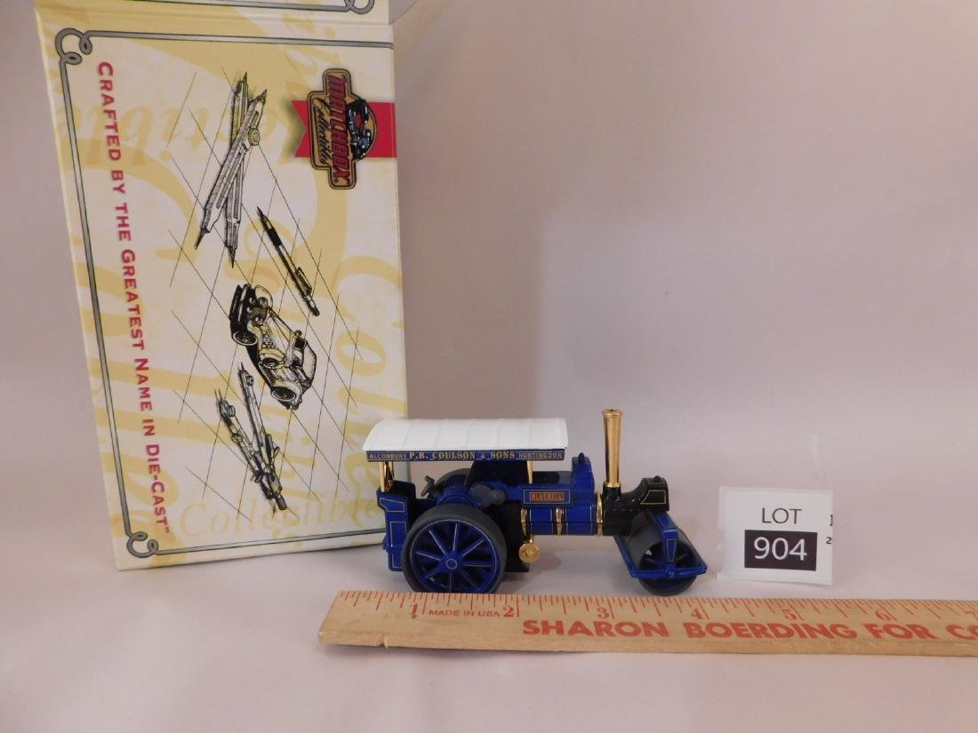 ALCONBURY PB COULSON AND SONS DIE CAST STEAM TRACTOR - 4