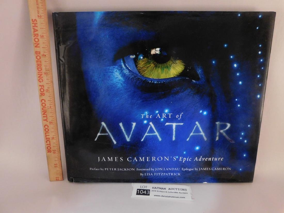 THE ART OF AVATAR JAMES CAMERSONS EPIC ADVENTURE