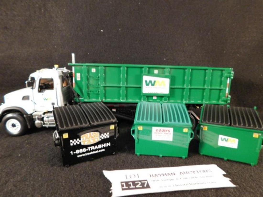 WASTE MANAGEMENT ROLL OFF REFUSE TRUCK ANTIQUES AND - 5