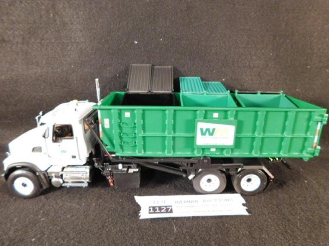 WASTE MANAGEMENT ROLL OFF REFUSE TRUCK ANTIQUES AND - 6