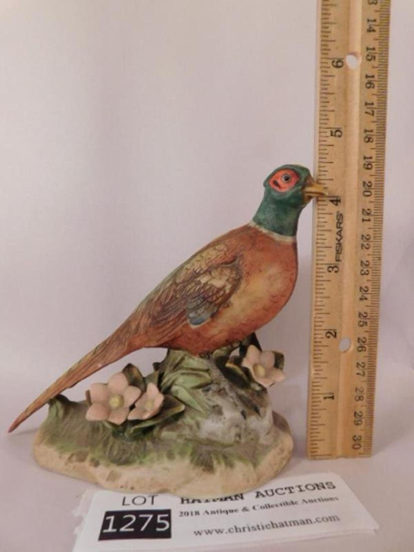 PHEASANT FIGURINE ANTIQUES AND COLLECTIBLES (YES, WE - 2