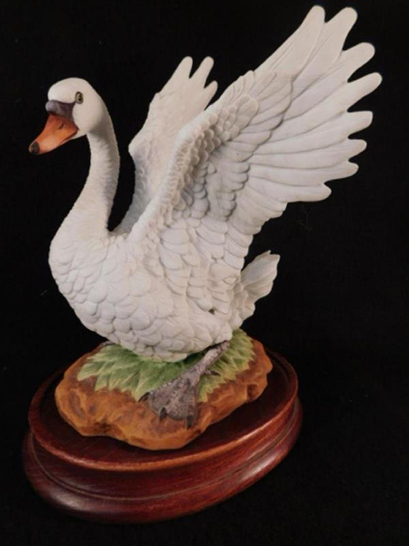 MUTE SWAN BY ANDREA BY SADEK HAND MADE AND HAND PAINTED