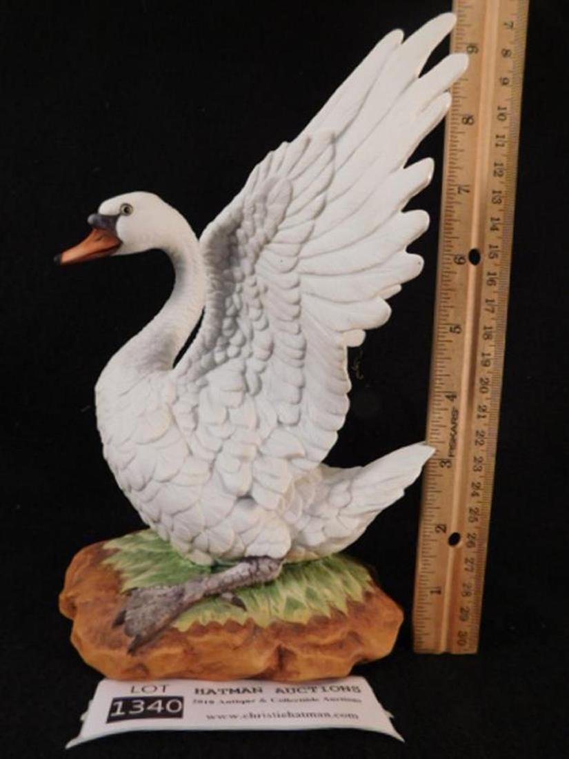 MUTE SWAN BY ANDREA BY SADEK HAND MADE AND HAND PAINTED - 2