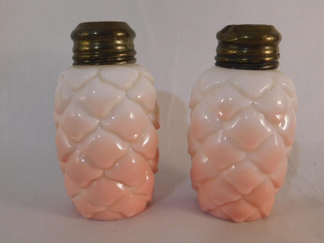 VICTORIAN OPAQUE SALT AND PEPPER