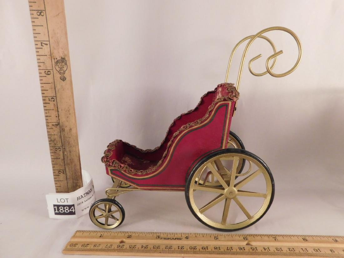 DOLL BUGGIES TOYS VINTAGE ANTIQUE ORNATE - 2