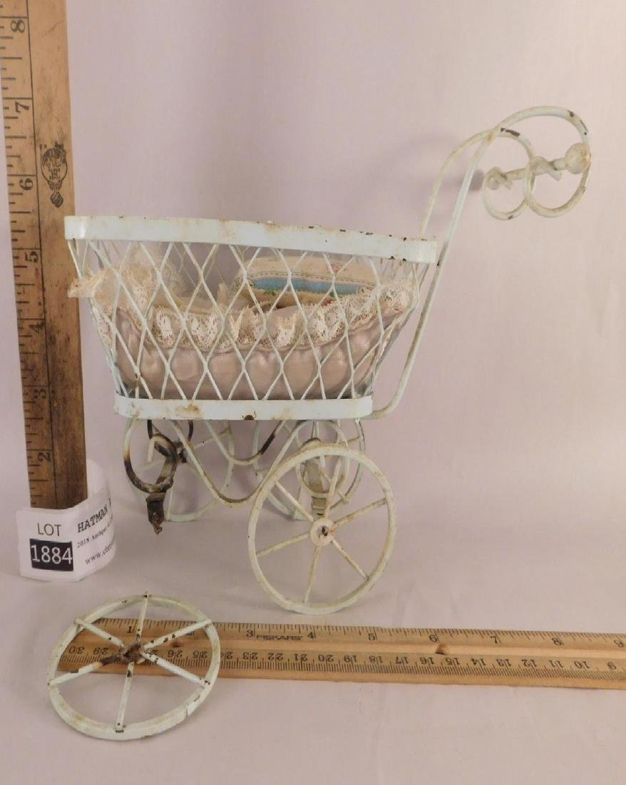 DOLL BUGGIES TOYS VINTAGE ANTIQUE ORNATE - 4