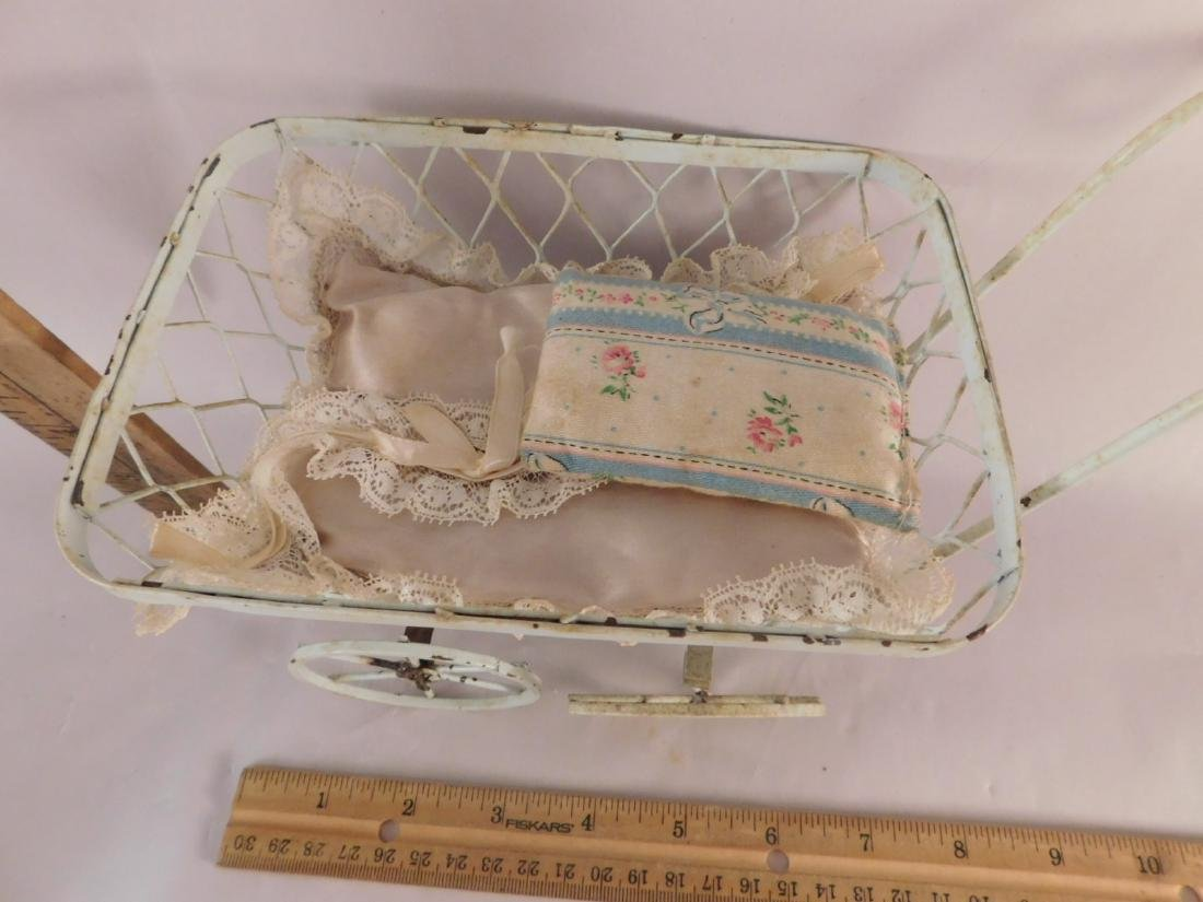 DOLL BUGGIES TOYS VINTAGE ANTIQUE ORNATE - 6