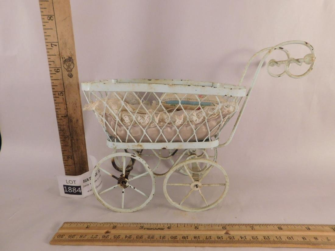 DOLL BUGGIES TOYS VINTAGE ANTIQUE ORNATE - 7