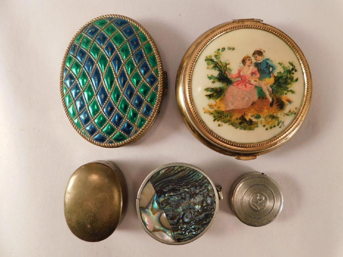 LADIES COMPACTS PURSE VINTAGE ANTIQUE