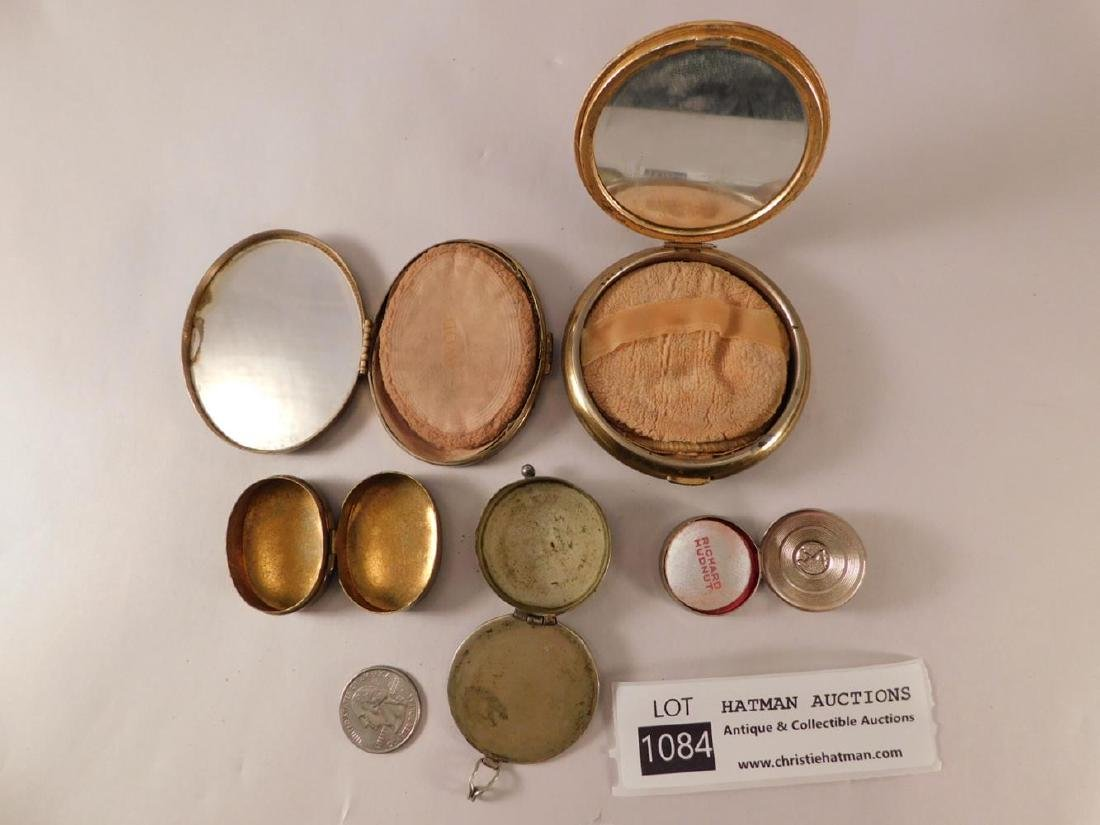 LADIES COMPACTS PURSE VINTAGE ANTIQUE - 2