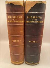 PREVIEW LOT: RARE BOOKS 1881 THE RISE AND FALL OF THE
