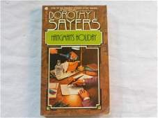 HANGMAN'S HOLIDAY BOOK BY DOROTHY L SAYERS