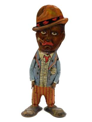 1930S ANDY BROWN MARX TOY TIN LITHO WINDUP VINTAGE