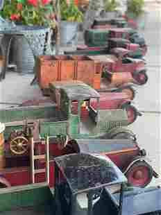 PREVIEW: EXCEPTIONAL PRESSED STEEL TRUCKS