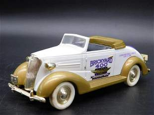 1937 CHEVY BRICKYARD 400 INAUGURAL RACE CAR TOY VINTAGE