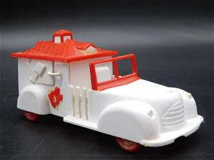 ICE CREAM TRUCK TOY VINTAGE ANTIQUE COLLECTIBLE