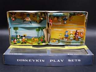 RARE DISNEYKIN PLAY SETS IN ORIGINAL BOX TOY VINTAGE