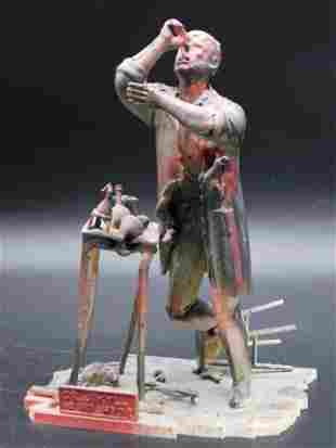 DR JEKYLL AND MR HYDE MODEL STATUE TOYS VINTAGE ANTIQUE