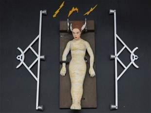 BRIDE OF FRANKENSTEIN MODEL STATUE PIECES AURORA