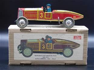 PAYA 1932 ROJO AUTO CARRERA SPAIN TIN TOY VINTAGE
