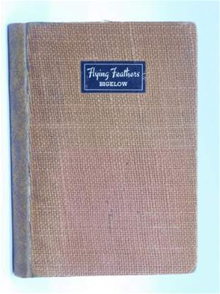 1937 FLYING FEATHERS BY HORATIO BIGFLOW BOOK ANTIQUES,