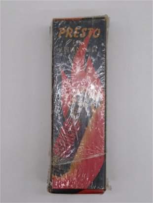 PRESTO MINI FIRE EXTINGUISHER IN ORIGINAL BOX