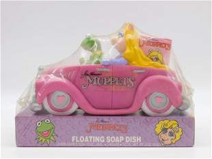 JIM HENSON'S MUPPETS FLOATING SOAP DISH TIN TOYS, WIND