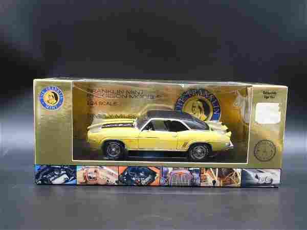 1969 Camaro Z/28 Franklin Mint Yellow/Black Die Cast