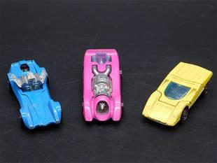 HOT WHEELS CARS SET OF 3 VINTAGE ANTIQUE