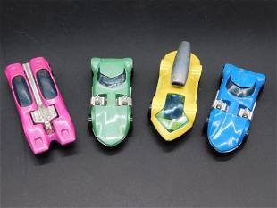 HOT WHEELS CARS SET OF 4 VINTAGE ANTIQUE