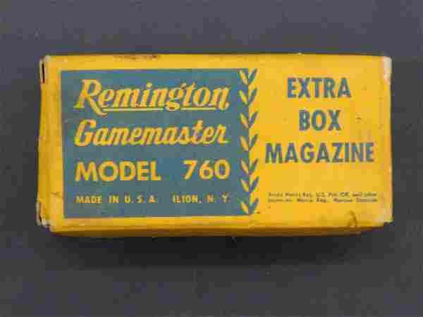 REMINGTON GAMEMASTER MODEL 760 EXTRA BOX MAGAZINE /