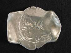 SILVER COIN FROM 1641 'CONCEPCION' SHIPWRECK 26 GRAMS