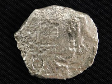 SILVER COIN FROM 1641 'CONCEPCION' SHIPWRECK 18 GRAMS