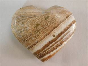 JASPER HEART ROCK STONE LAPIDARY SPECIMEN