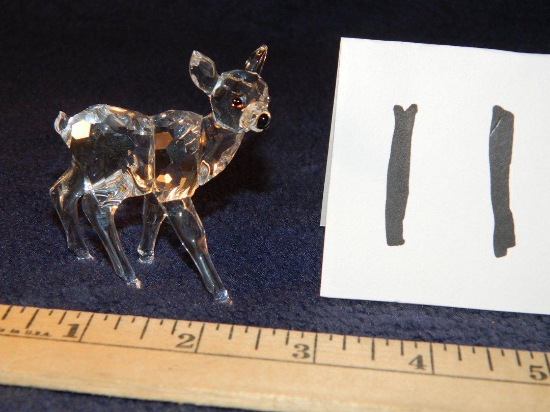 Swarovski Crystal Fawn w/orig. box