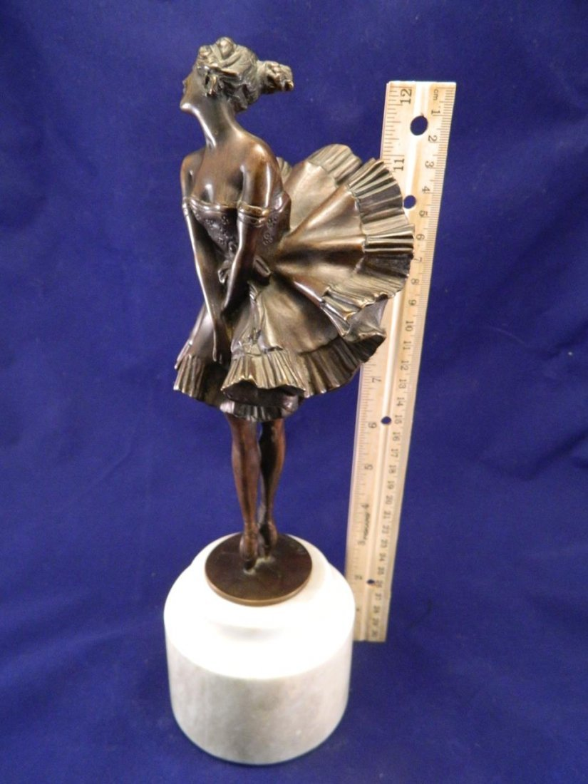 Can Can Girl Bronze Phillipe - 10