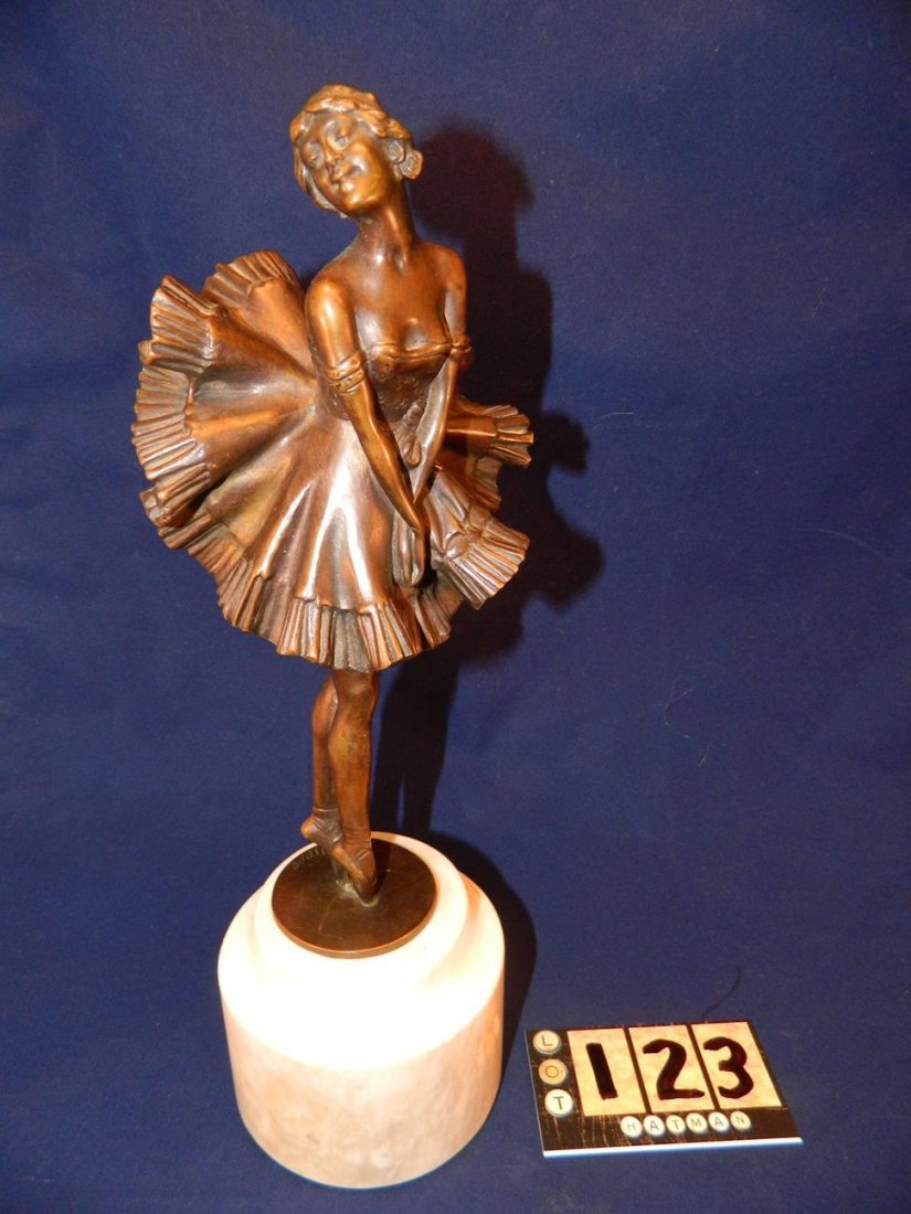 Can Can Girl Bronze Phillipe