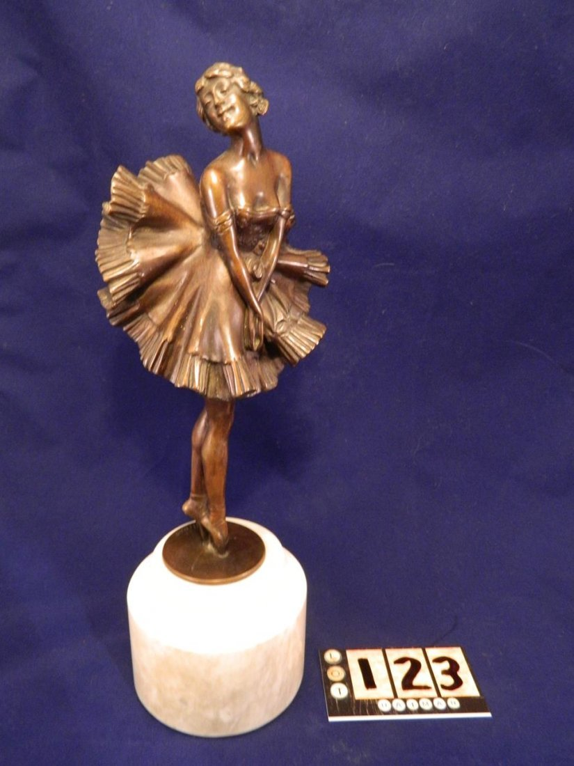 Can Can Girl Bronze Phillipe - 2